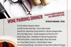 İzmir Wine Pairing Dinner
